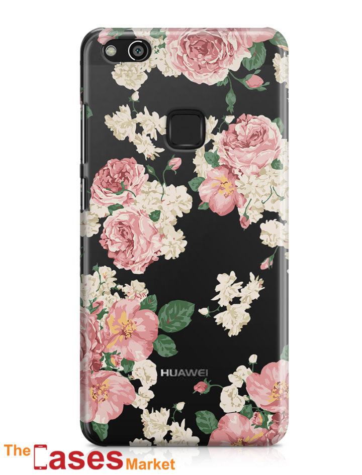 capa transparente telemovel huawei flores 7