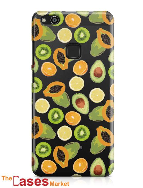 capa transparente telemovel huawei fruta 9