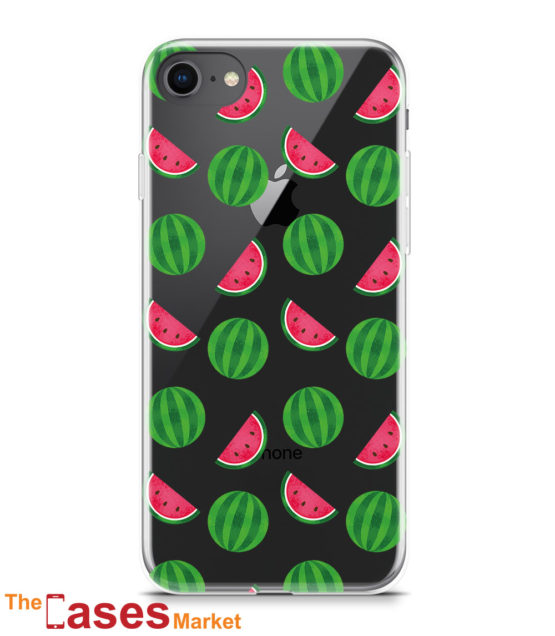 capa transparente iphone melancia fruta 6
