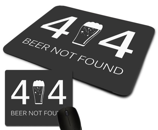 tapete rato 404 beer not found