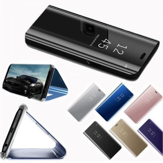 capa flip janela inteligente telemovel huawei p30 lite pro