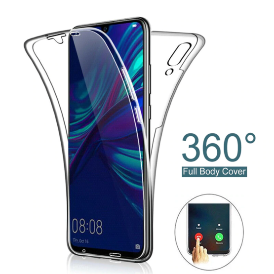 capa silicone completa frente e tras huawei y6 2019