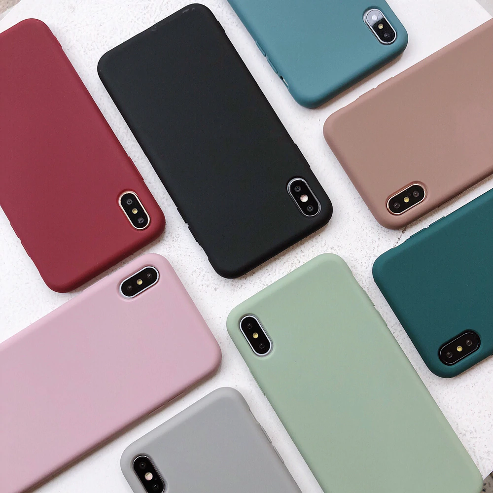 capa silicone iphone xs max