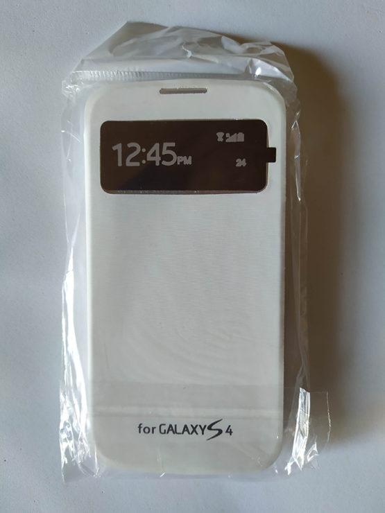 CAPA FLIP BRANCA SAMSUNG S4