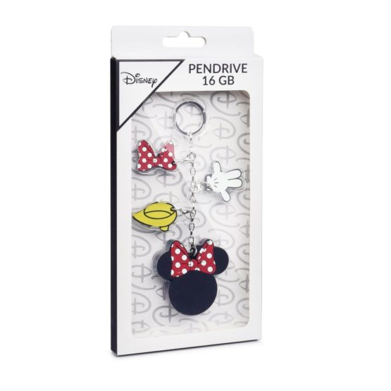 Pen usb porta-chaves minnie mouse