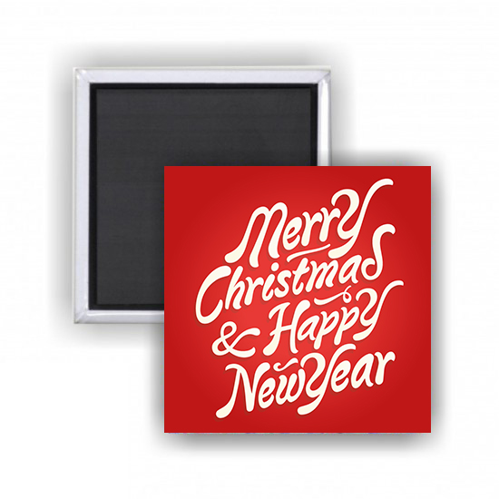 Azulejo com Iman Merry Christmas & Happy New Year
