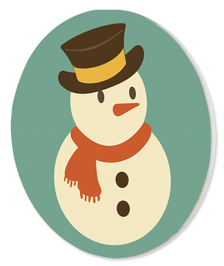 iman redondo boneco de neve natal