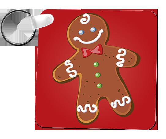 porta-chaves biscoito de natal