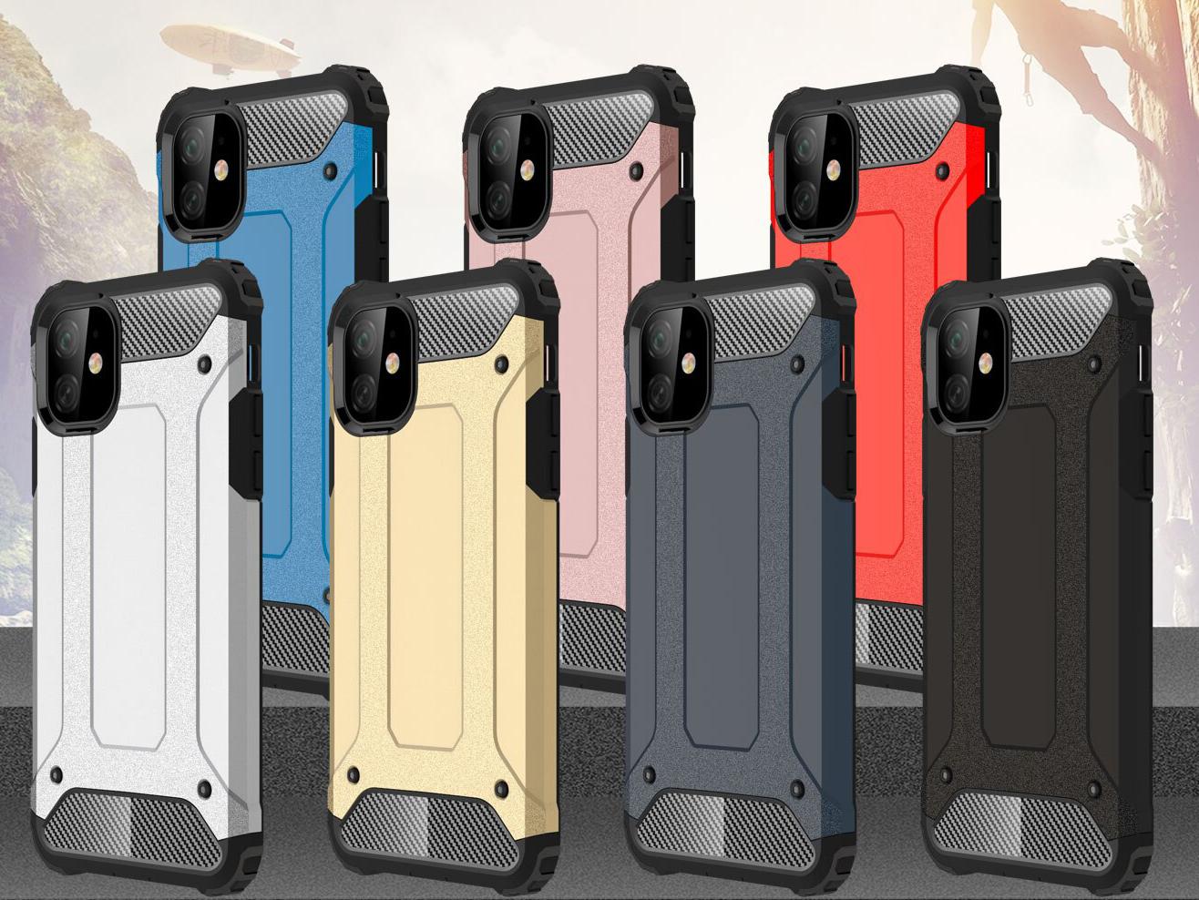 capa hibrida anti-choque iphone 11 pro max