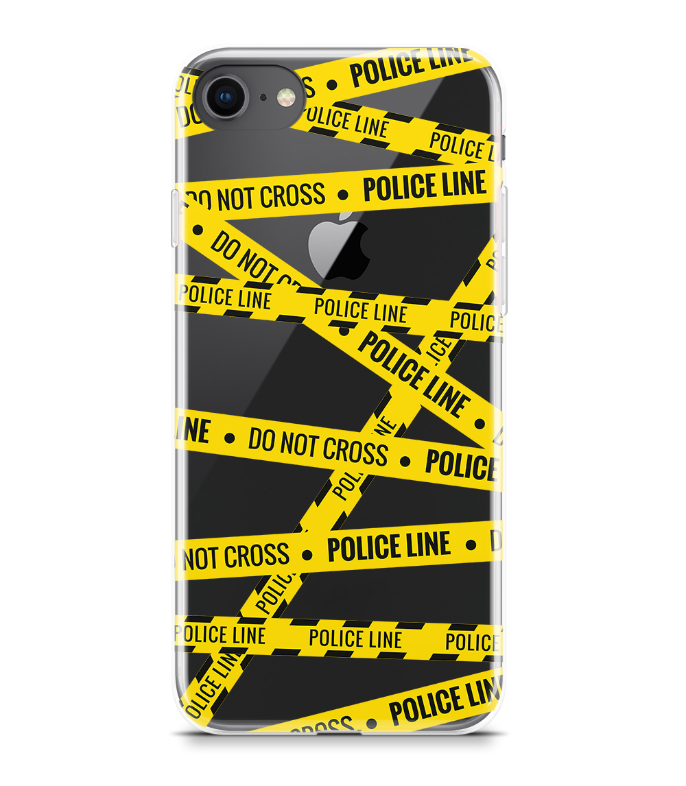 capa iphone police line do not cross